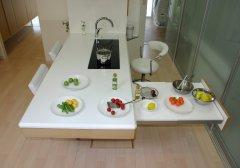 未来のキッチン全景